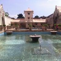 Photo taken at Taman Sari Water Castle by Ari Budi H. on 11/17/2012