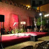 Photo taken at Palazzo D'avalos by Alberto V. on 8/3/2013
