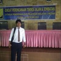 Photo taken at Balai Diklat PU Wilayah 1 Medan by asri h. on 5/19/2014