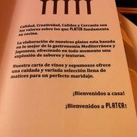 Foto tomada en Restaurante Platea Foods&Friends por Jesús M. el 11/1/2013