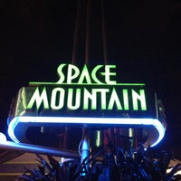 Photo taken at Space Mountain by Justin M. on 4/1/2013