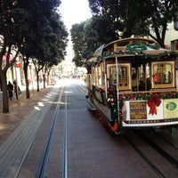 Photo taken at Powell Street Cable Car Turnaround by taylor m. on 12/10/2012