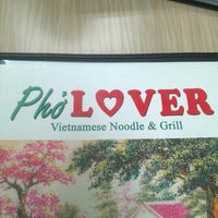 Photo taken at Pho Lover by Adam L. on 12/1/2012