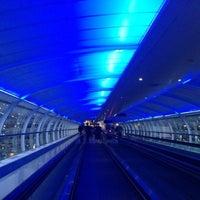 Photo taken at Manchester International Airport (MAN) by Peiyin L. on 11/1/2013