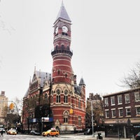 Photo taken at New York Public Library - Jefferson Market by Courtney T. on 12/1/2012