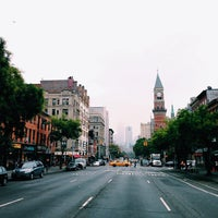 Photo taken at 14th St & 6th Ave by Courtney T. on 10/5/2013