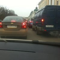 Photo taken at Державинская by Kate O. on 11/22/2012
