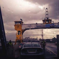 Photo taken at Woolwich Ferry by Nick V. on 6/15/2013