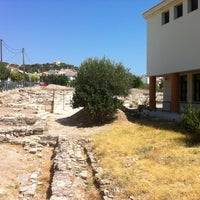 Photo taken at Archaeological Museum Pythagorion Samos by Elisavet M. on 8/31/2013