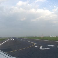Photo taken at Runway-Chennai Airport by Shriram S. on 10/25/2013