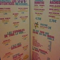 Photo taken at Tacos Tacos by Estefania V. on 6/2/2013