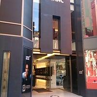 Photo taken at Montblanc Boutique Tokyo by Takeshi T. on 11/20/2013