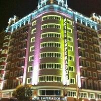 Photo taken at Hotel Emperador Madrid by Dima K. on 10/3/2012