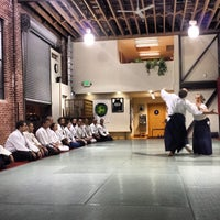 Photo taken at Suginami Aikikai by Paolo P. on 12/20/2013