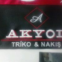 Photo taken at AKYOL   Triko & Nakış by Mina A. on 4/8/2013