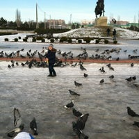 Снимок сделан в Площадь Суворова пользователем кристина в. 12/30/2012
