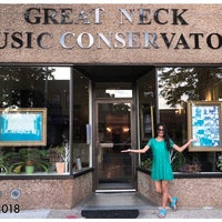 Photo taken at Great Neck Music Conservatory by Mariliz P. on 6/22/2018
