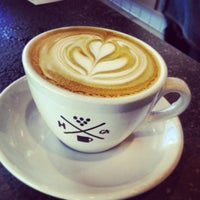 Photo taken at Handsome Coffee Roasters by TheYumYum F. on 5/1/2013
