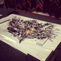 photo taken at downtown framing outlet by theyumyum f on 892014 - Downtown Framing Outlet