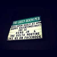 Photo taken at The Green Room Pub by Hero Jr on 2/23/2013