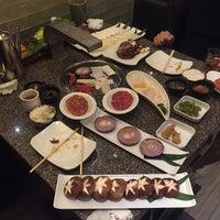 Photo taken at Hannanshan premium Korean BBQ by Sergei M. on 12/6/2014
