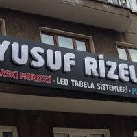 Photo taken at Yusuf Rizeli Reklamcılık by Ersin R. on 5/2/2014