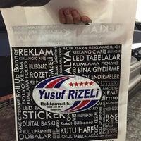 Photo taken at Yusuf Rizeli Reklamcılık by Ersin R. on 12/11/2014