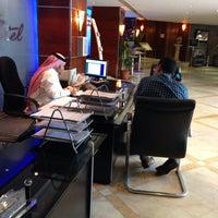 Photo taken at Al Bustan Hotel, Jeddah by Mishab A. on 2/10/2014