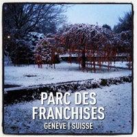 Photo taken at Parc des Franchises by Philippe K. on 11/21/2013