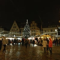 Photo taken at Town Hall Square by Marina B. on 1/3/2013