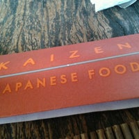 Foto tirada no(a) Kaizen Japanese Food 改善 por Alexandre O. em 10/26/2012