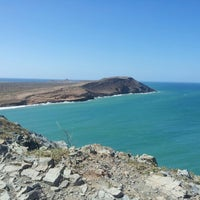 Photo taken at El Cabo de la Vela by Felipe T. on 1/3/2013