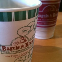 Photo taken at Bagels & Brew by Christina M. on 10/21/2012