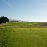 Photo taken at Half Moon Bay Golf Links by John Y. on 1/4/2013