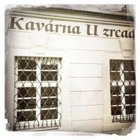 Photo taken at Café U Zrcadla by Vit F. on 2/13/2016