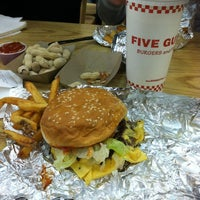 Photo taken at Five Guys by Briana C. on 1/6/2013
