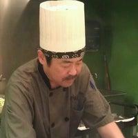 Photo taken at Fuji Teppanyaki Restaurant by Brian L. on 10/13/2012
