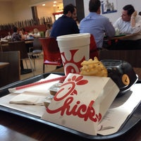 Photo taken at Chick-fil-A by Ari T. on 1/6/2014