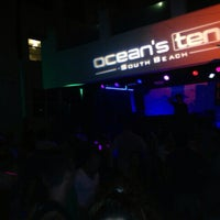 Photo taken at Ocean's Ten by It's X. on 3/25/2013