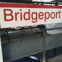 Photo taken at Bridgeport Train Station (BRP) - Metro North & Amtrak by Miggs C. on 12/28/2012