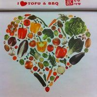 Photo taken at I <3 Tofu & BBQ by Abilene L. on 1/15/2013