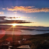 Photo taken at Cadillac Mountain by Erin H. on 5/27/2013