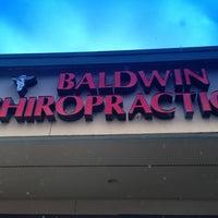 Photo taken at Baldwin Chiropractic by Carol A. on 4/16/2013