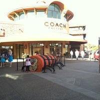 Photo taken at Coach Factory Store by Carol A. on 9/29/2012