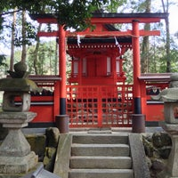 Photo taken at 戸隠神社(須川) by K.Watch on 3/17/2013