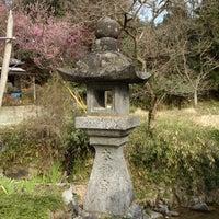 Photo taken at 榛原高井の太神宮燈籠 by K.Watch on 3/30/2013