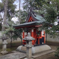 Photo taken at 春日神社(戒重) by K.Watch on 3/10/2014