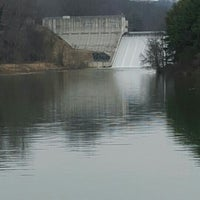 Photo taken at Loch Raven Dam by EDoubleE . on 2/21/2016