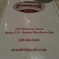Photo taken at Stonebridge Cafe by Edson P. on 2/27/2013