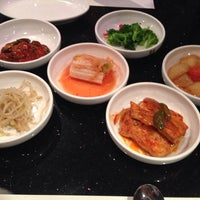 Photo taken at Han Gang Korean Cuisine by Samuel on 8/6/2013